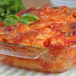 Pasta al forno ricetta primo piatto Battipagliese semplice piana del sele economico semplice gustoso pasqua pasquetta pic nic Giallozafferano blog Gz
