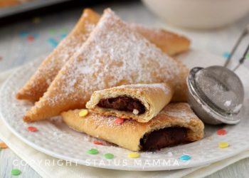 crestine dolci alla ricotta ricetta di carnevale al forno o fritti senza uova facili e golose