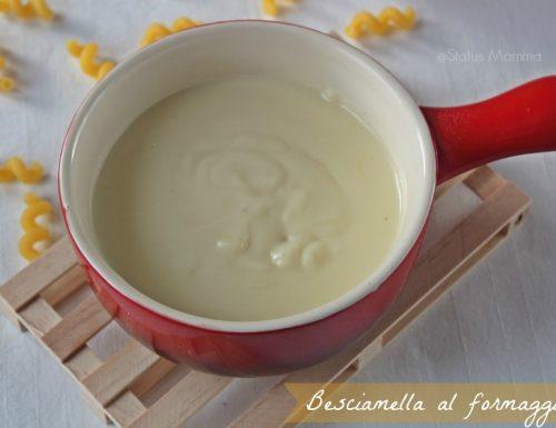 Besciamella al formaggio cremosa