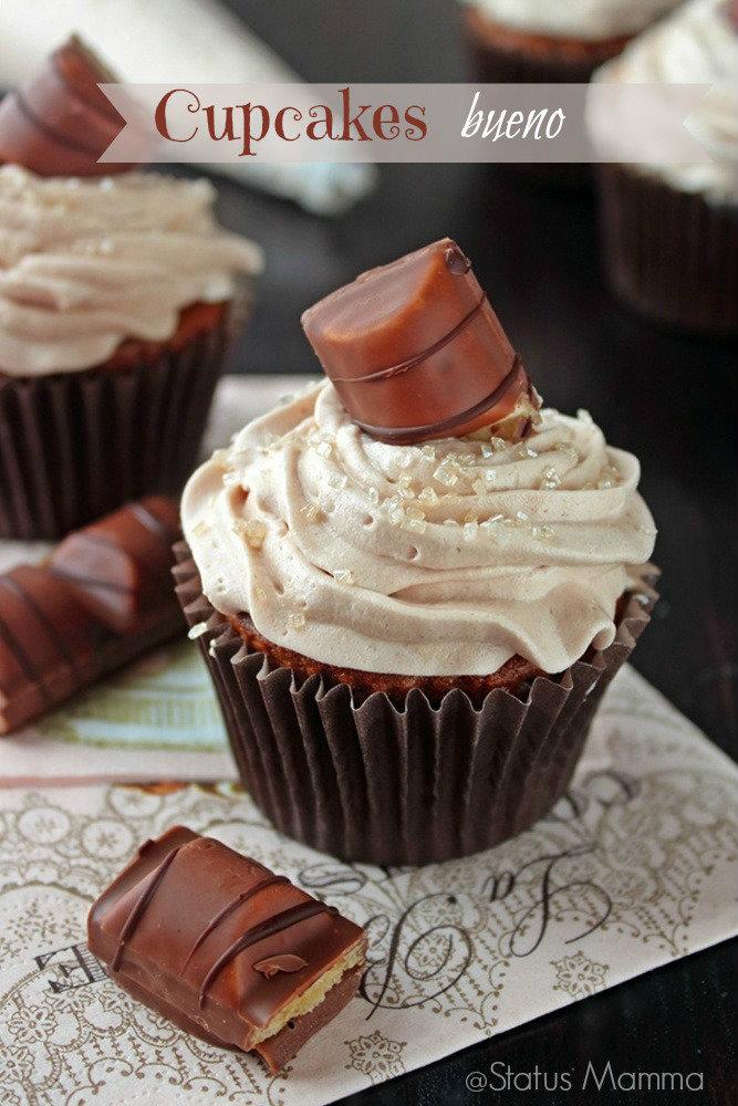 Super Cupcakes Kinder bueno | Status Mamma OU57