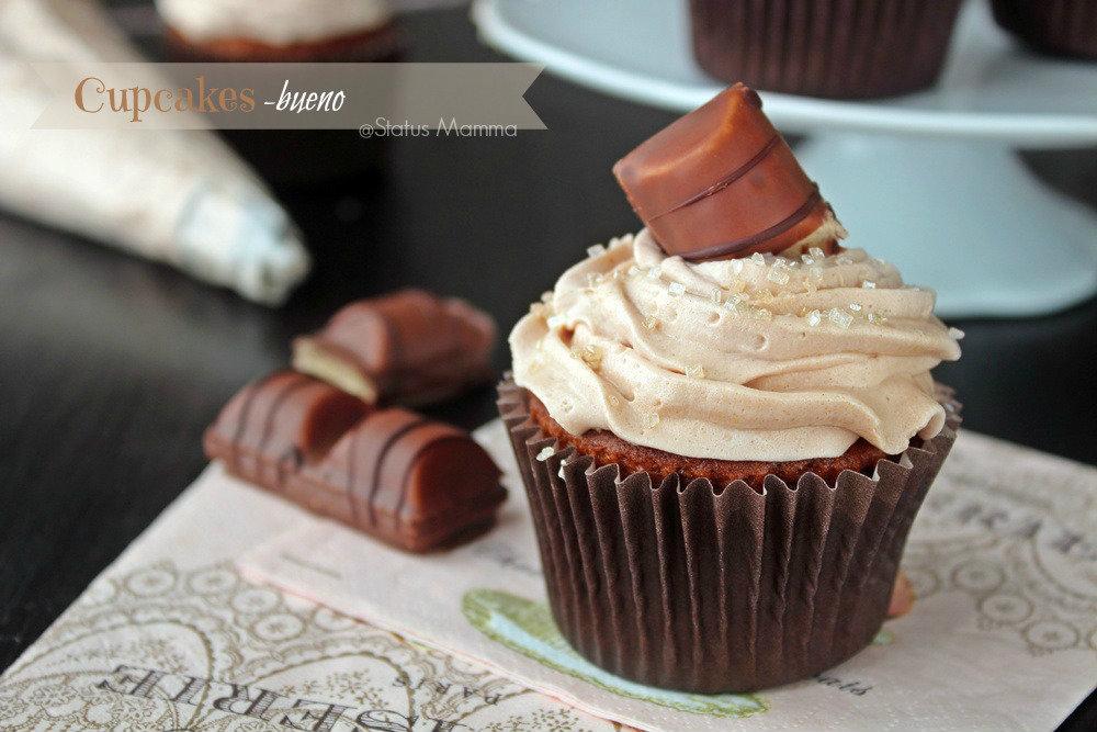 Ben noto Cupcakes Kinder bueno | Status Mamma NY17