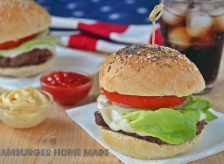 Hamburger home made
