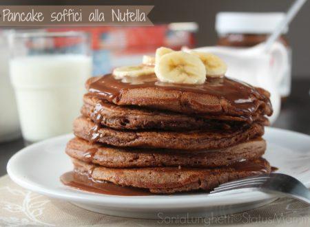 Pancake soffici alla Nutella