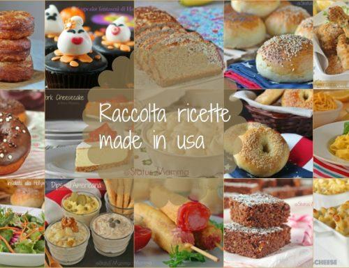 Raccolta ricette americane made in usa