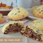 Nutella Chocolate Chip Cookies biscotti