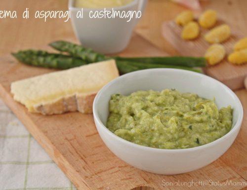 Crema di asparagi al castelmagno