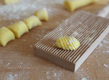 Gnocchi di patate allo zafferano