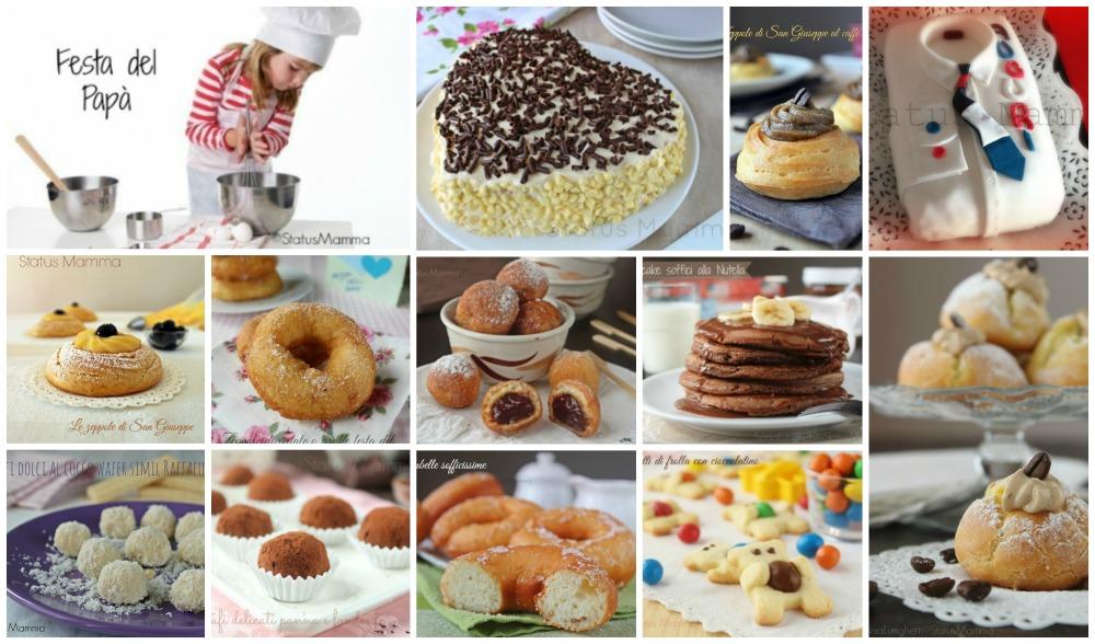 Ben noto Ricette per la festa del papà dolci | Status Mamma QL09