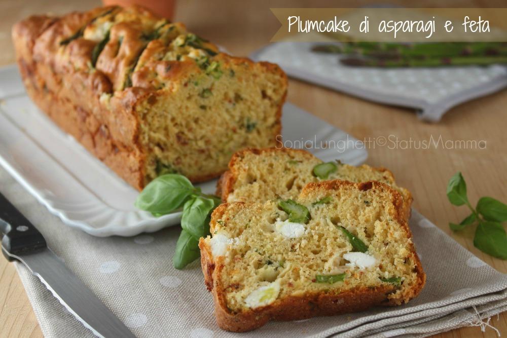 Ricetta plumcake di asparagi verdura ricetta per la cena o pranzo.. Semplice veloce. Perfetto per un pic nic, per il pranzo in ufficio buffet e si può' preparare anche con un certo anticipo.