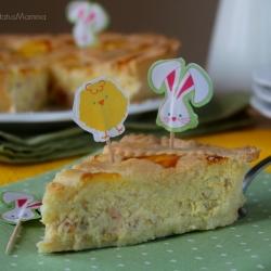 ricetta napoletana cucinare crostata con crema pasticcera Sal di Riso dolce Pasqua easter dessert blog food cucina