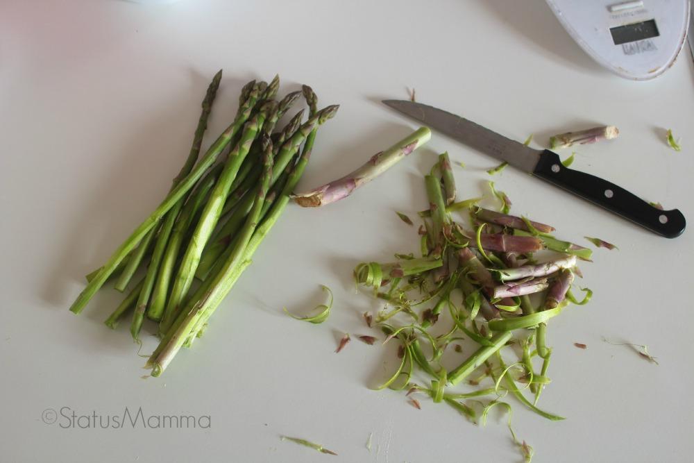 Ricetta semplice economica crostata salata asparagi e brie antipasto secondo pic nic al sacco
