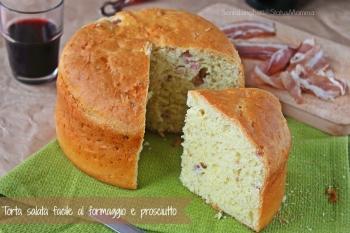 Torta salata al formaggio e prosciutto cotto salumi formaggi ricetta lievitato semplice economico veloce stuzzichino antipasto buffet Statusmamma Gialloblogs blogGz