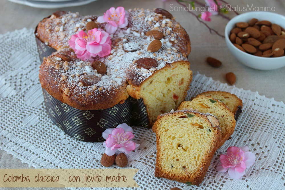 Colomba Classica Di Pasqua Con Lievito Madre Status Mamma
