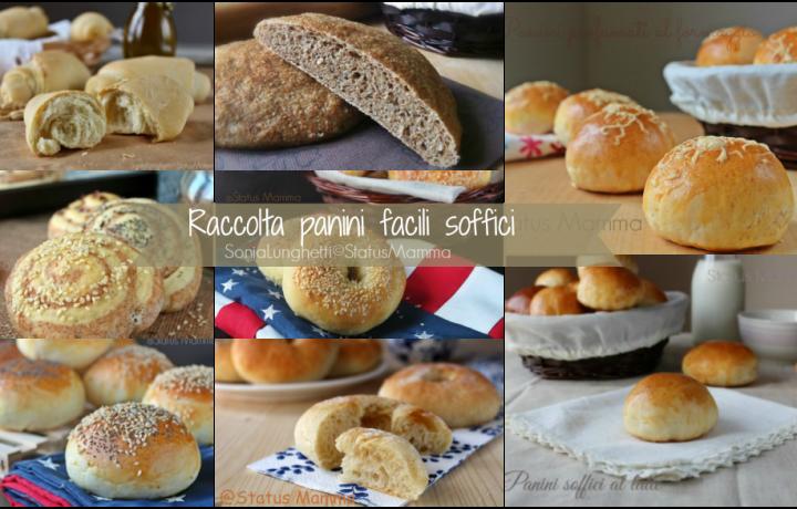 Raccolta ricette panini facili soffici