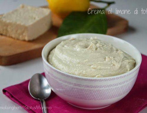 Crema al limone di tofu ricetta base