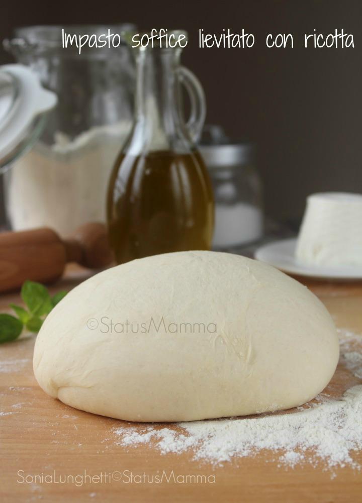 Impasto soffice lievitato con ricotta ricetta cucinare lievitati muffin pane panini pizza fingerfood Statusmamma Giallozafferano