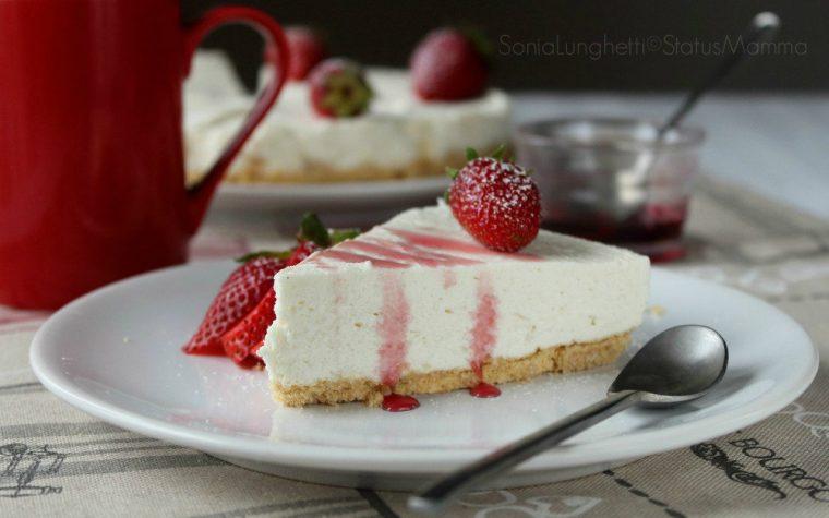 Cheesecake vegana senza cottura