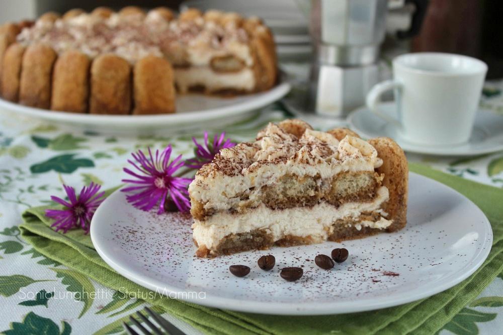 tiramisù torta fredda ricetta cucinare semplice dolce cremoso cheesecake con biscotti savoiardi dessert freddo semifreddo