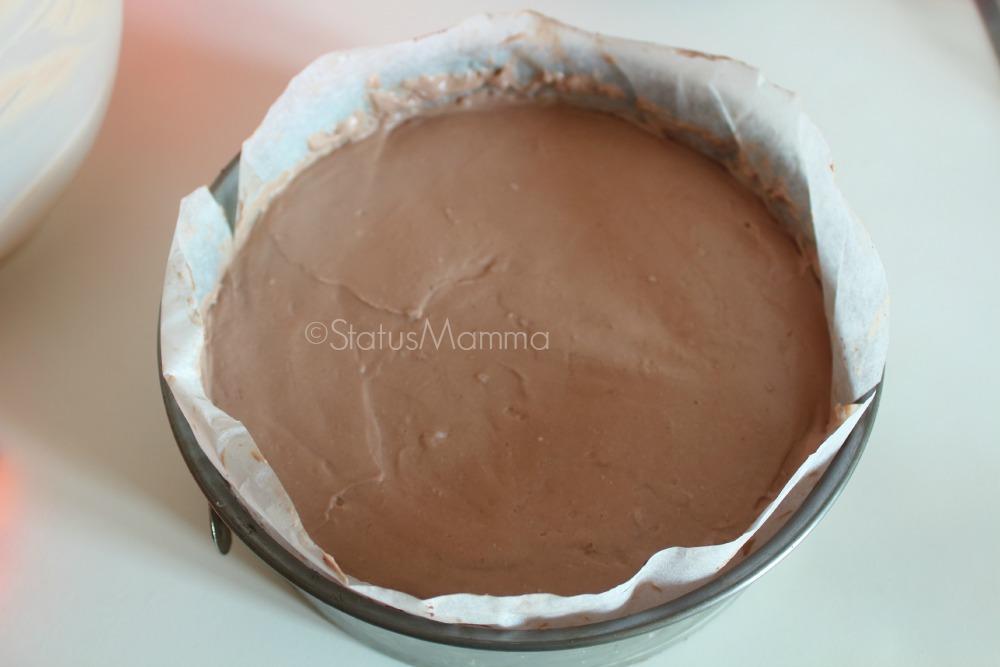 cheesecake di ciliegie al cioccolato fondente ricetta dessert dolce estate 2015 torta fredda cacao facile goloso
