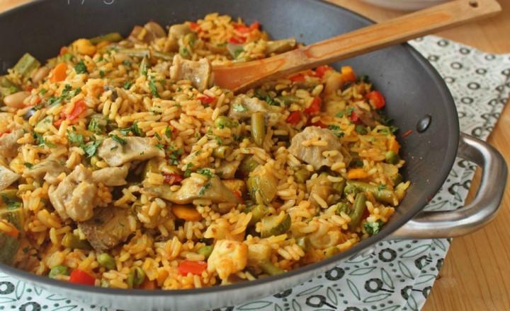 Paella ricetta vegana