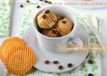 caffè gelato crema cremoso senza gelatiera semplice veloce economico dolce dessert ricetta cucinare foto blog tutorial