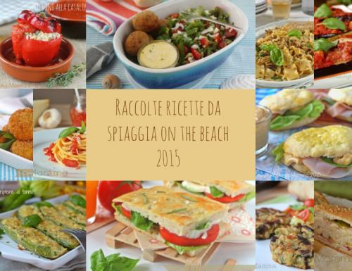 Raccolta ricette on the beach