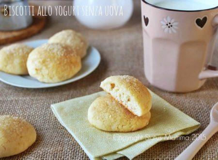 Biscotti allo yogurt senza uova e burro