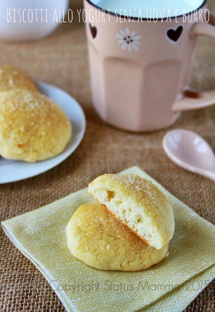 Biscotti allo yogurt senza uova e burro ricetta cucinare dolci facile senza  uova burro facile veloce