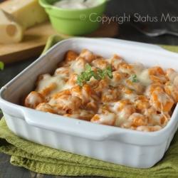 Gnocchi di carote ai formaggi gratinati primo ricetta senza carne cucinare foto blog facile tutorial Statusmamma © Copyright Status mamma 2015