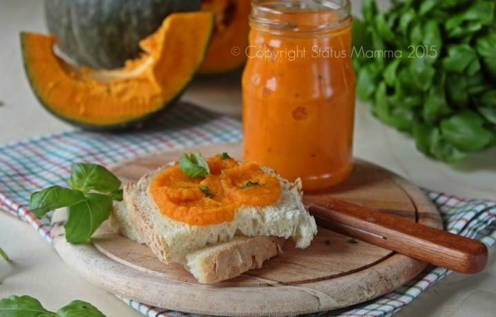 Salsa alla zucca facile e gustosa ricetta condimento