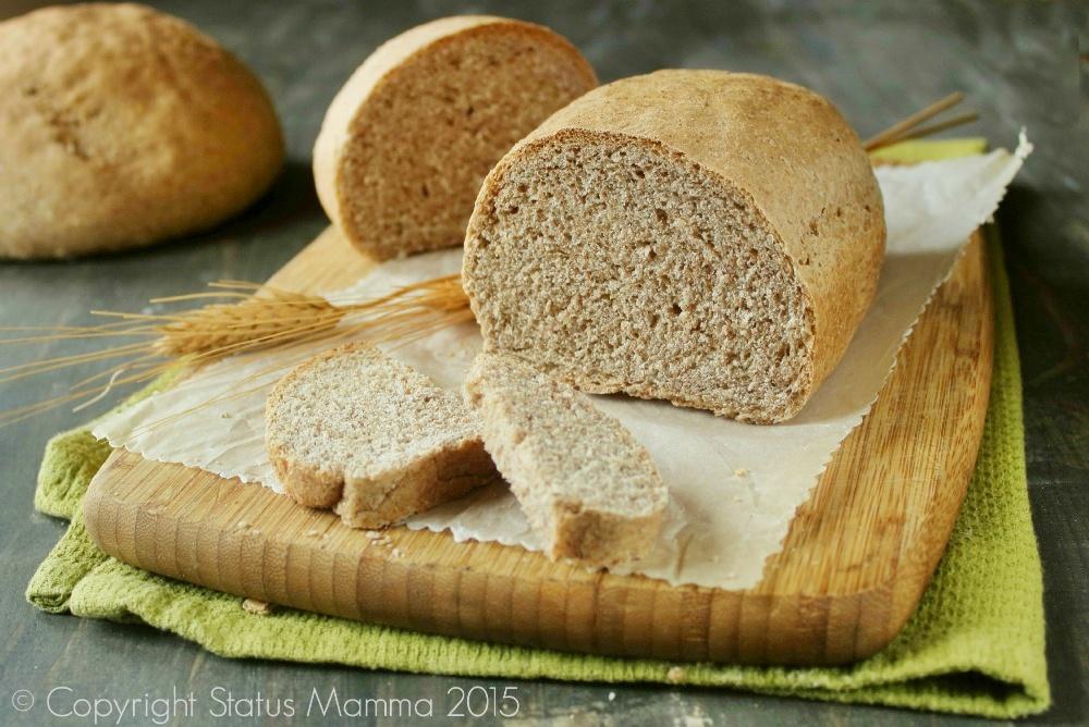 come preparare un morbido pane con farina integrale ricetta lievitato morbido facile Statusmamma cucinare Giallozafferano © Copyright Status mamma 2015.