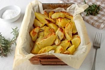 articolo con tutti i consigli per la preparazione perfetta delle patate al forno ricetta verdura contorno facile Statusmamma cucinare Giallozafferano blog