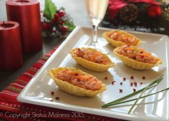 antipasti di capodanno cenone  antipasto facile veloce con salmone formaggio cremoso Statusmamma Giallozafferano foto blog tutorial passo passo