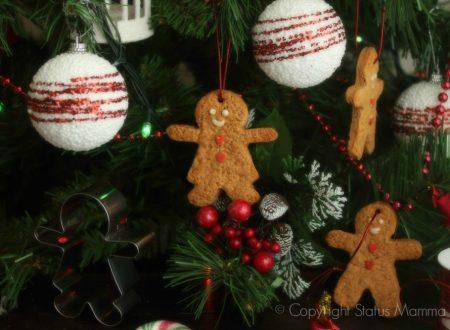 Biscotti pan di zenzero speziati di Natale speziati