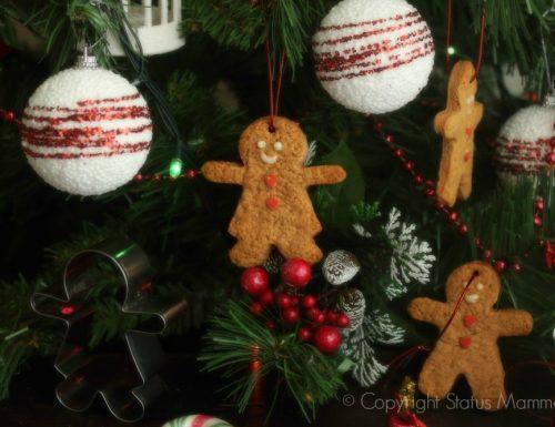 Biscotti pan di zenzero speziati di Natale