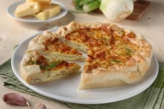 sfogliata rustica con finocchi ricetta facile veloce vegetariana Giallozafferano con verdure Statusmamma Gialloblogs
