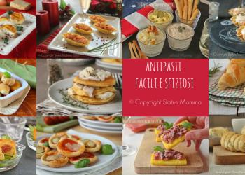 antipasti stuzzichini fingerfood vegetariano salati facili veloci economici © Copyright Status mamma 2015 Giallozafferano blog Gz