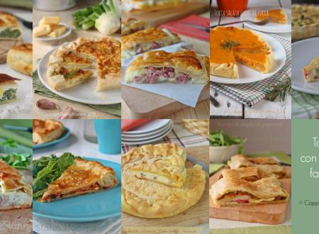 Torte salate con pasta sfoglia facili e veloci