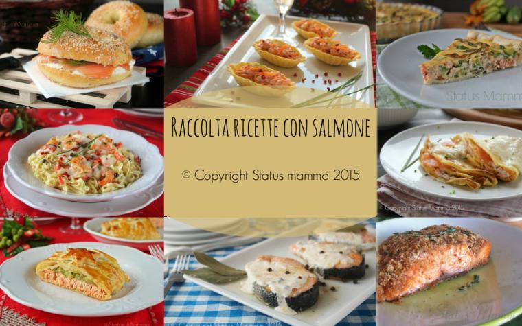 Raccolta ricette con salmone