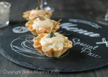 Tartelle antipasto fingerfood con pasta brisee facile veloce economico Natale Capodanno feste occasioni speciali Satusmamma Gialloblogs © Copyright Status mamma 2015