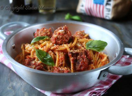 Spaghetti con polpette al sugo – Spaghetti and Meatballs