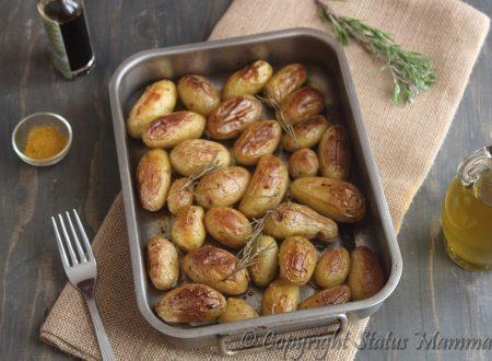 Patate novelle al vincotto balsamico e curry