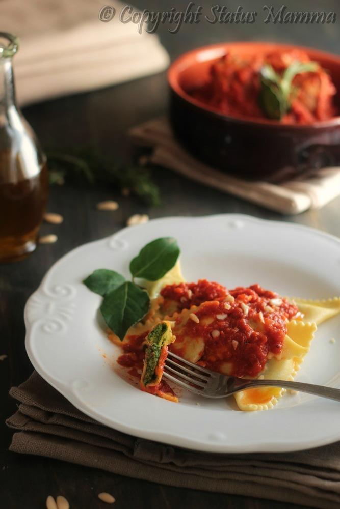 Pansoti o pansotti con carne al tocco ligure genova ricetta primo piatto semplice gustoso tipico Statusmamma Gialloblog