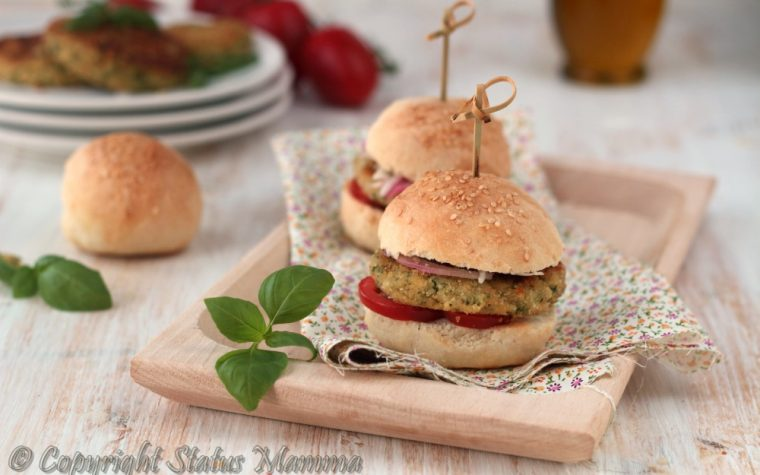 Burger senza carne vegetariano