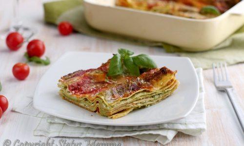 Lasagnetta ricotta e pesto