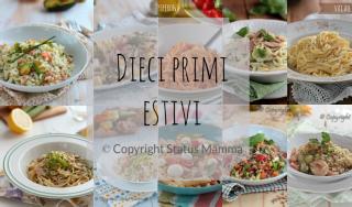 raccolta primi estate ricetta facile veloce pic nic al rientro dal mare piatto unico con verdure Statusmamma gialloblogs