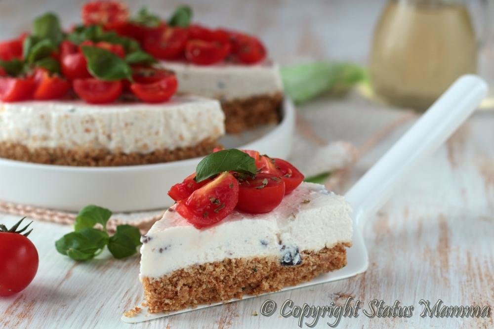Torta salata ricetta senza cottura