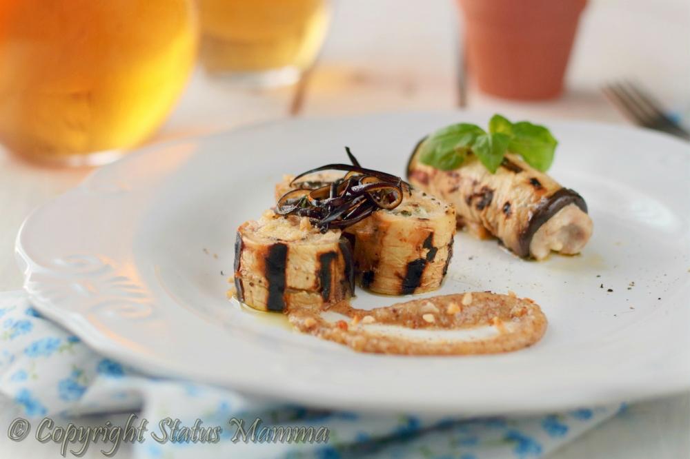 involtini di melanzane ricetta veloci cucinare facile con pesce spada pesto di nocciole bacco Giallozafferano foto tutorial Statusmamma giallozafferano gialloblogs