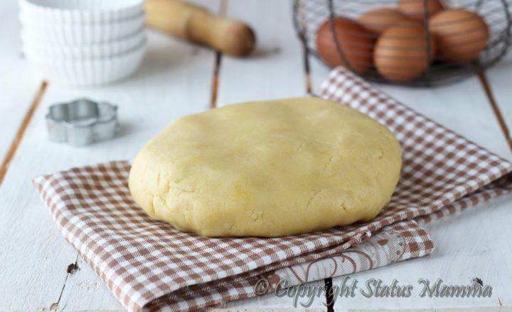 Pasta frolla impasto base classico semplice e friabile facile
