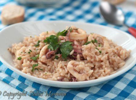 Risotto ai calamari ricetta facile e gustosa